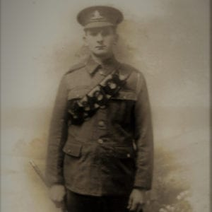 Edward Male | Kingsbury Time Travellers | Photo of Local Soldier WW1