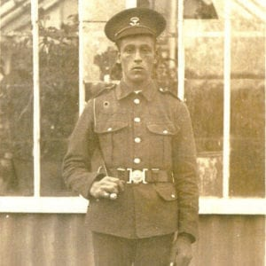 Norman Pipe | Kingsbury Time Travellers | Photo of Local Soldier WW1