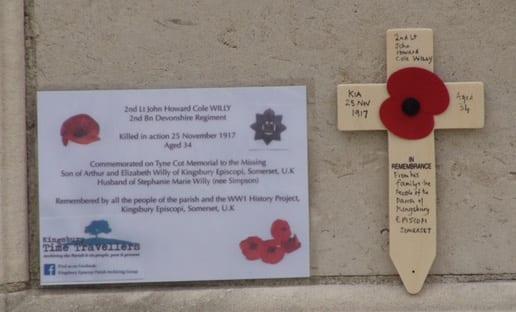 Howard Willy's Memorial