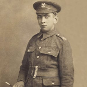 James Reed | Kingsbury Time Travellers | Photo of Local Soldier WW1